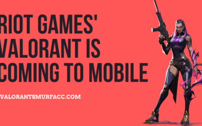 Riot Games' Valorant is coming to mobile